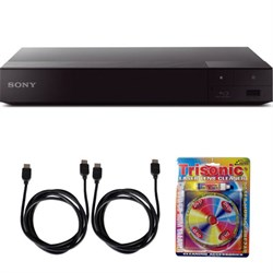 Sony BDP-S6700 4K Upscaling 3D Streaming Blu-ray Disc Player w/ Accessory Bundle E4SNBDPS6700