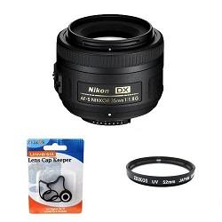 Nikon AF-S DX 35mm F/1.8G Lens w/ UV Filter