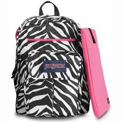 JanSport Digital Student Backpack - T19W (Zebra)