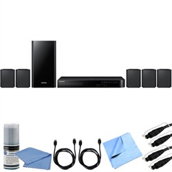 Samsung HT-J4500 - 5.1ch 500 Watt Smart 3D Blu-Ray Home Theater System Bundle E1SAMHTJ4500