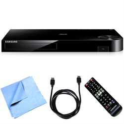 Samsung BD-H6500 - Smart Blu-ray Player with 4K Up-scale WiFi 3D Bundle E1SAMBDH6500