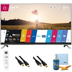LG 60-Inch 1080p 240Hz 3D Direct LED Smart HDTV Plus Hook-Up Bundle (60LB7100)