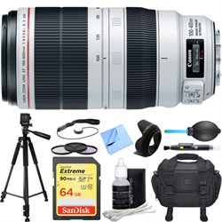 Canon EF 100-400mm f/4.5-5.6L IS II USM Lens Deluxe Acces...