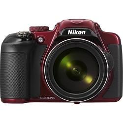 Nikon COOLPIX P600 16.1MP Digital Camera - Red