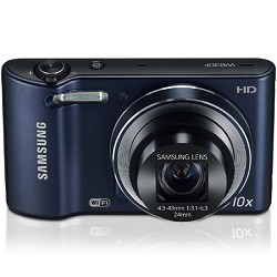 Samsung WB30F 16.2 MP 10x optical zoom Digital Camera - Black