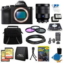 Sony Alpha 7R a7R Digital Camera, 24-70mm Lens, 2 64GB SD...