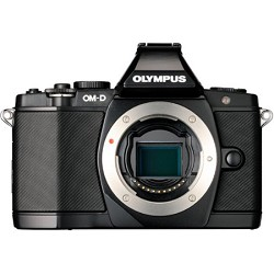 Olympus OM-D E-M5 16 MP Live MOS Interchangeable Lens Camera (Black Body Only)