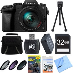 Panasonic LUMIX G7 Interchangeable Lens 4K Video DSLM Cam...