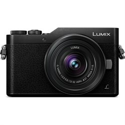 Panasonic LUMIX GX850 Black 4K Mega OIS Lens 16MP WiFi Mi...