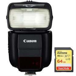Canon 430EX III-RT EOS Speedlite Flash with Wireless Capa...