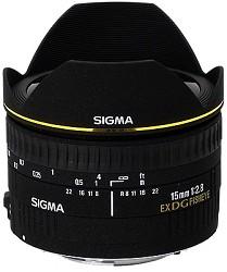 Sigma 15mm F2.8 EX DG DIAGONAL Fisheye for Canon EOS SLR ...