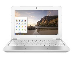 Hewlett Packard 11-2110nr 11.6 HD Chromebook PC - Intel Celeron N2830 Processor