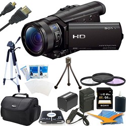 Sony HDR-CX900/B HD Camcorder Kit