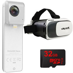 Insta360 Nano 360 Dual Lens VR Camera for iPhone 6/7 w/ V...