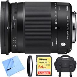 Sigma 18-300mm F3.5-6.3 DC Macro HSM Lens Contemporary fo...
