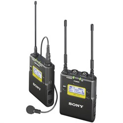 Sony Lavalier Microphone Wireless System w/ Bodypack Transmitter & Portable Tuner SNUWPD1114