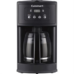 Cuisinart DCC-500 12-Cup Programmable Black Coffeemaker - Factory Refurbished CUIDCC500RB