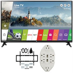 "LG 43"" Class Full HD 1080p Smart LED TV 2017 Model 43LJ55..."