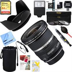 Canon EF-S 10-22mm F/3.5-4.5 USM Lens + 64GB Ultimate Kit