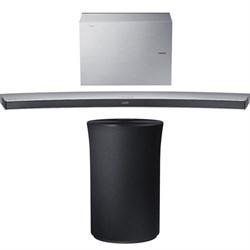 Samsung 4.1 Channel Curved Wireless Soundbar White w/ Rad...