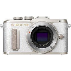 Olympus PEN E-PL8 16.1 MP Wi-Fi White Mirrorless Digital ...