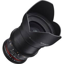 Rokinon DS 35mm T1.5 Full Frame Wide Angle Cine Lens for Micro Four Thirds Mount