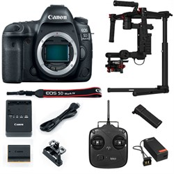 Canon EOS 5D Mark IV 30.4MP DSLR Camera-Body w/ DJI Brush...