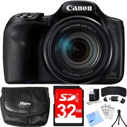 Canon PowerShot SX540 HS 20.3MP Digital Camera w/ 50x Opt...