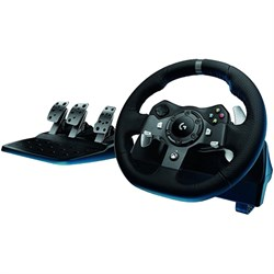 Logitech Driving Force G920 Racing Wheel, Force Feedback ...