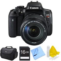 Canon EOS Rebel T6i Digital SLR Camera with 18-135mm STM Lens 16GB Bundle