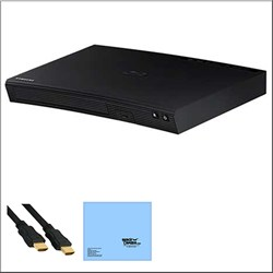 Samsung BD-J5700 - Wi-Fi Blu-ray Disc Player + Bundle E2SAMBDJ5700