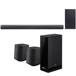 LG SJ4Y-S) Wireless 2.1ch Sound Bar + (SPJ4-S) Wireless S...