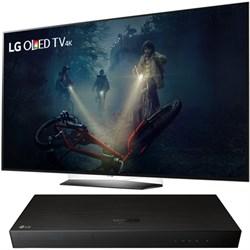 "LG B7A Series 65"""" OLED 4K HDR Smart TV 2017 Model with UHD Blu-ray Player"" E1LGOLED65B7A"