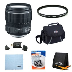 Canon EF-S 15-85mm f/3.5-5.6 IS USM Standard Zoom Lens Exclusive Pro Kit