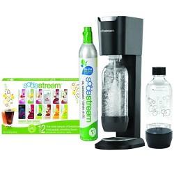 SodaStream GENESIS Home Soda Maker Starter Kit - Silver/Black - PRICE AFTER $10.00 REBATE