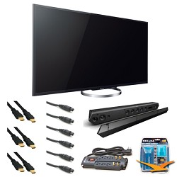 Sony KDL65W850A 65-Inch Bravia LCD HDTV Sound Bar Bundle