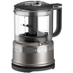 KitchenAid 3.5 C Mini Food Procssr Silver KAKFC3516CU