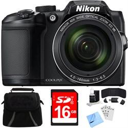 Nikon COOLPIX B500 16MP 40x Optical Zoom Digital Camera w...