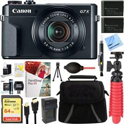 Canon PowerShot G7 X Mark II 20.1MP Digital Camera + Spar...