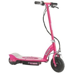 Click here for Razor E100 Electric Scooter - Pink - 13111261 prices