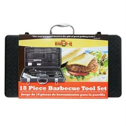 Click here for Mr Bar B Q 18-Piece Barbecue Tool Set with Plastic... prices