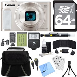 Canon PowerShot SX620 HS 20.2MP Digital Camera Silver w/ ...