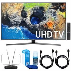 """Samsung 40"""" UHD 4K HDR LED Smart HDTV (2017 Model) w/ TV ..."""