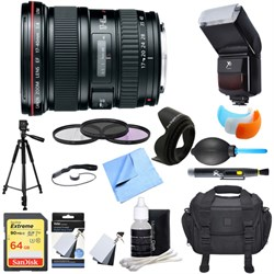 Canon EF 17-40mm F/4 L USM Lens Ultimate Accessory Bundle
