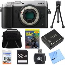 Panasonic DMC-GX8SBODY LUMIX GX8 4K Interchangeable Lens ...