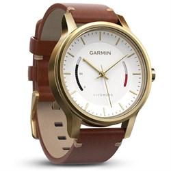 Garmin Vivomove Premium Activity Tracker - Gold-Tone Stee...