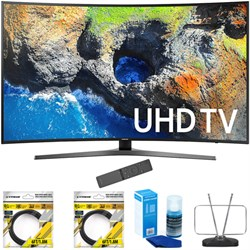 "Samsung 65"" Curved 4K Ultra HD Smart LED TV 2017 Model wi..."