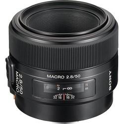 Sony SAL50M28 - 50mm f/2.8 Macro A-Mount Lens