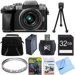 Panasonic LUMIX G7 Interchangeable Lens 4K Ultra HD DSLM ...