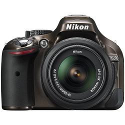 Nikon D5200 DX-Format Bronze DSLR Camera with 18-55mm VR Lens - Factory Refurbished